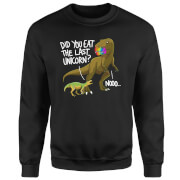 Dinosaur Unicorn Sweatshirt - Black