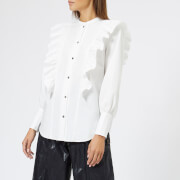 Rejina Pyo Women's Isla Blouse - Cotton White - UK 10 - White