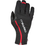 Castelli Spettacolo RoS Gloves - Black/Red - L - Black/Red
