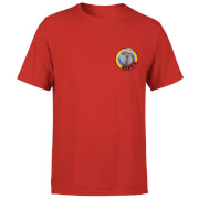 Rainbow Zippy Pocket Men's T-Shirt - Red