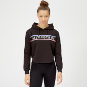 Myprotein The Original Crop Hoodie - Black