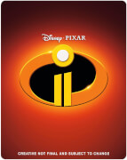 Incredibles 2 3D (Includes 2D Version) - Zavvi Exclusive Steelbook