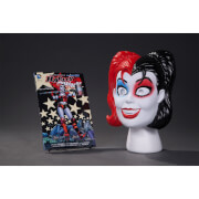 DC Comics Harley Quinn Book and Mask Set