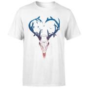 Antlers Men's T-Shirt - White