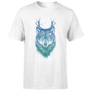 Wolf Men's T-Shirt - White