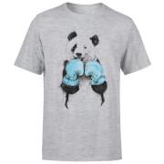 Boxing Panda Men's T-Shirt - Grey