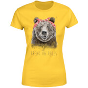 Break The Rules Women's T-Shirt - Yellow