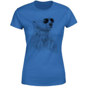 Cool Bear Women's T-Shirt - Royal Blue