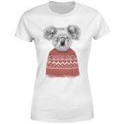 Koala And Jumper Women's T-Shirt - White