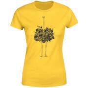 Ostrich Women's T-Shirt - Yellow