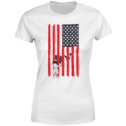 USA Cage Women's T-Shirt - White