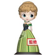 Banpresto Q Posket Disney Frozen Anna Coronation Style Figure 14cm (Pastel Colour Version)