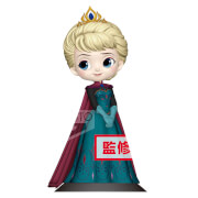 Banpresto Q Posket Disney Frozen Elsa Coronation Style Figure 14cm (Normal Colour Version)