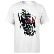 Venom Chest Burst Men's T-Shirt - White