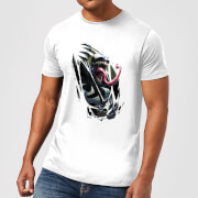 Venom Chest Burst Men's T-Shirt - White