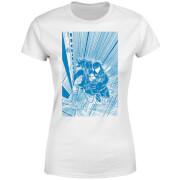 Venom Comic Panel Damen T-Shirt - Weiß