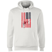 USA Cage Hoodie - White