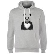 Panda Love Hoodie - Grey