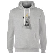 Party Lion Hoodie - Grey