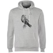 Birds Flying Hoodie - Grey