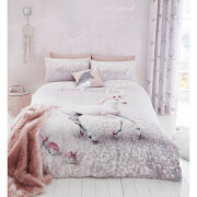Catherine Lansfield Enchanted Unicorn Duvet Set - Pink