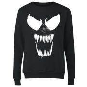 Venom Bare Teeth Women's Sweatshirt - Black