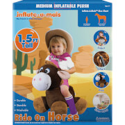Inflate A Mals   1.5ft Ride On Horse