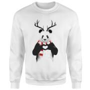 Winter Panda Sweatshirt - White