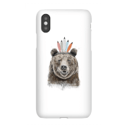 Balazs Solti Native Bear Phone Case for iPhone and Android - Samsung S10E - Snap Case - Matte