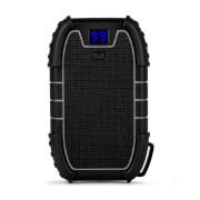 Image of Veho Pebble Endurance 15,000mAh Rugged Outdoor Water Resistant Power Bank - Black