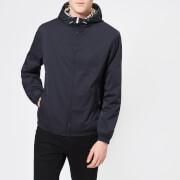 Aquascutum Men's Tyne Hooded Reversible Blouson Jacket - Navy - L - Navy
