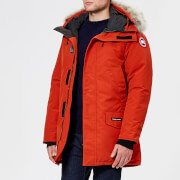 Canada Goose Men's Langford Parka Jacket - Red Jasper - L - Red