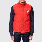 Canada Goose Men's Freestyle Crew Vest - Red - L - Red