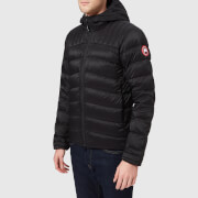 Canada Goose Men's Brookvale Hooded Jacket - Black/Graphite - M - Black