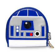 Loungefly Star Wars R2-D2 Patent Coin Bag - Blue/White/Silver