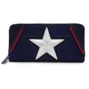 Loungefly Marvel Captain America Zip-Around Wallet