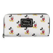Disney Loungefly Cartera Mickey Mouse Estampado Diseño Clásico