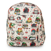 Loungefly Star Wars Tattoo Flash Print Backpack