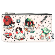 Loungefly Star Wars Tattoo Flash Print Nylon Pencil Case