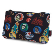 Loungefly Stranger Things Sticker Print Pencil Case