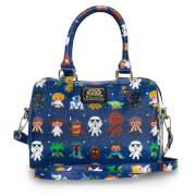 Loungefly Star Wars Baby Character AOP Print Duffle Bag
