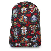 Loungefly Disney Villains Tattoo AOP Backpack