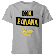 My Little Rascal Cool Banana Kids' T-Shirt - Grey