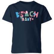 My Little Rascal Beach Baby Kids' T-Shirt - Navy