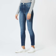 Frame Denim Women's Ali High Rise Skinny Jeans - Belhaven - W26 - Black