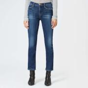 Frame Denim Women's Le High Straight Fit Jeans - York - W26 - Black