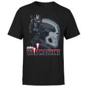Avengers War Machine T-shirt - Zwart