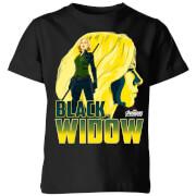 Camiseta Marvel Vengadores Viuda Negra - Niño - Negro - 11-12 años - Negro
