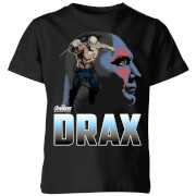 Avengers Drax Kids' T-Shirt - Black - 7-8 Years - Black