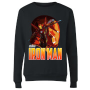Avengers Iron Man Women's Sweatshirt - Black